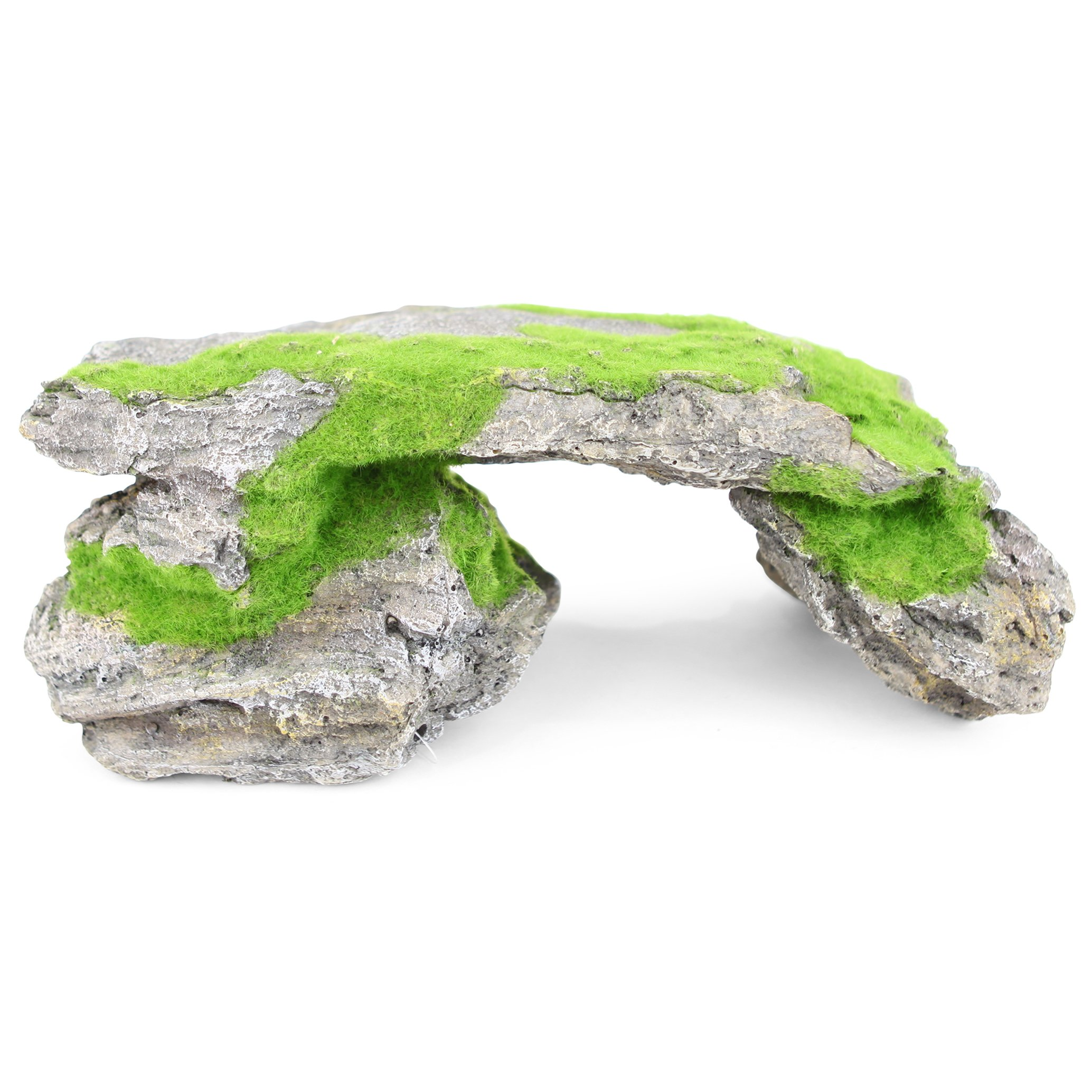 Natural Rock Bridge With Textured Moss – X Large