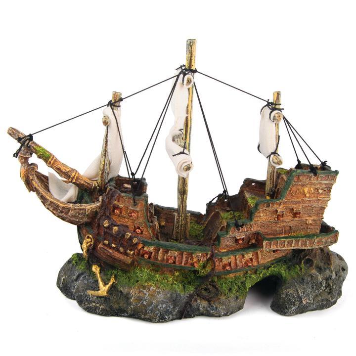 Galleon With Sails – Medium