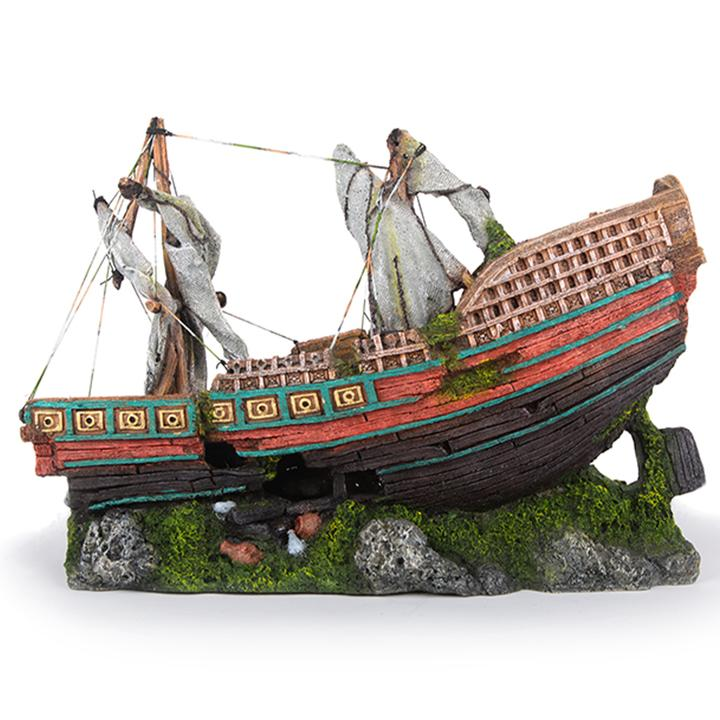 Galleon Stern With Sails – X Large