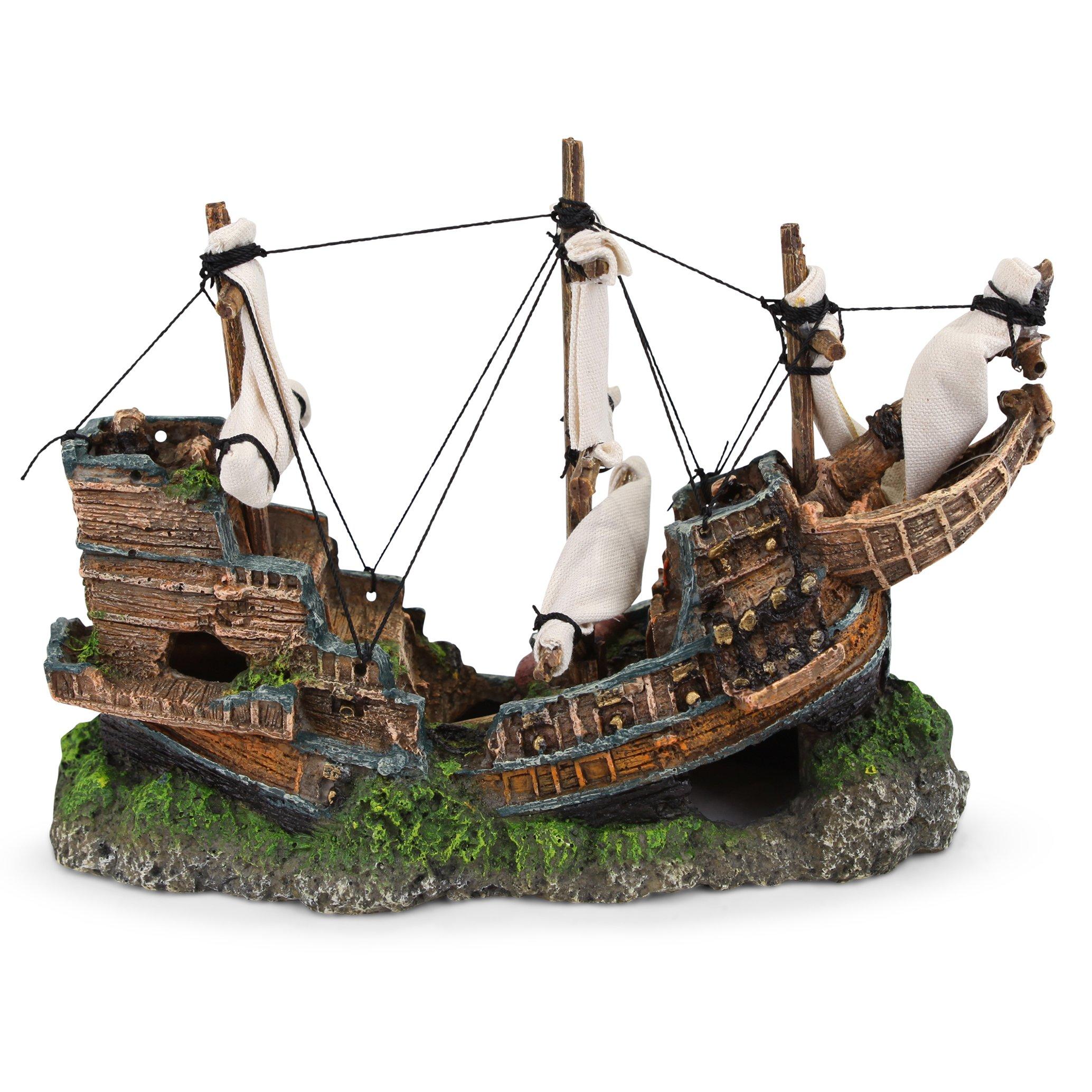 Shipwreck With Sail – Medium