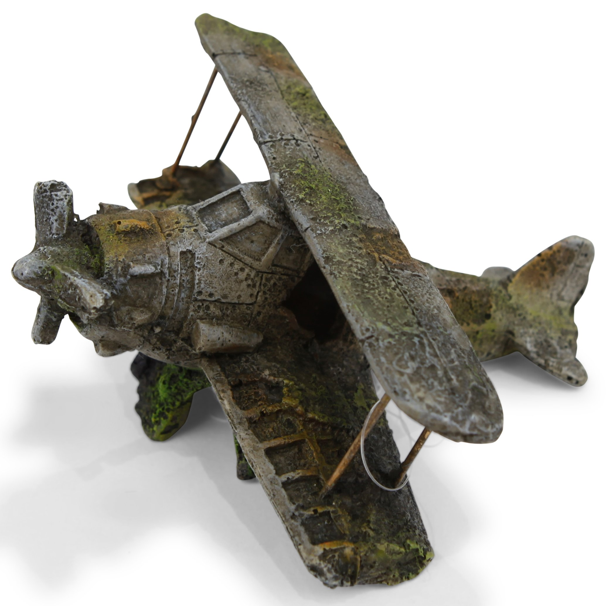 Crashed Biplane – Small