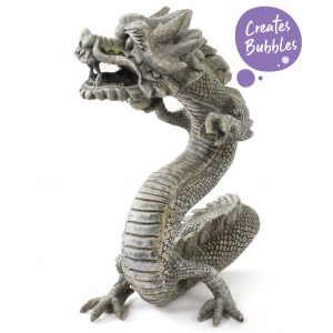 Bubbling Chinese Dragon