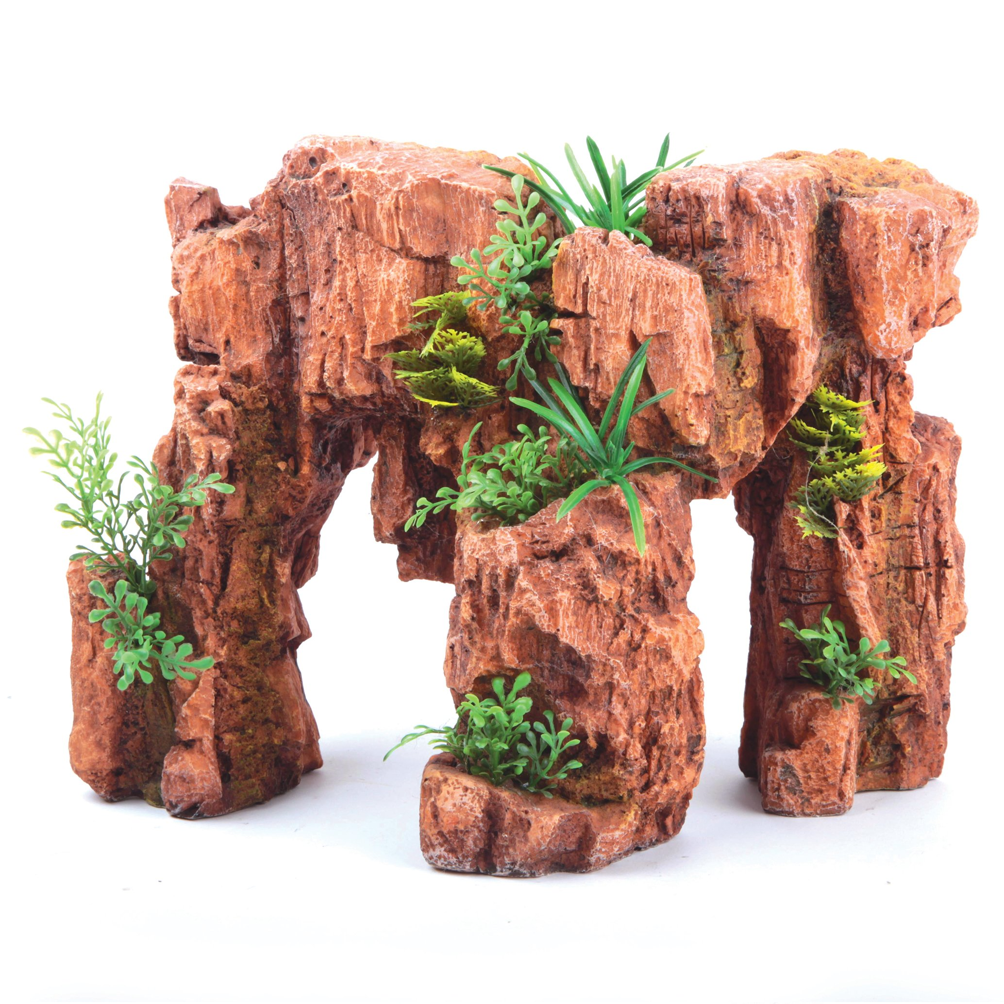 Red Stonehenge With Plants – Parts of Stonehenge Set