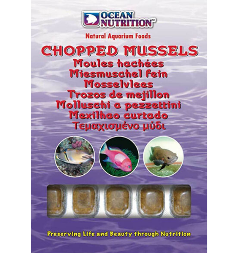 Chopped Mussels