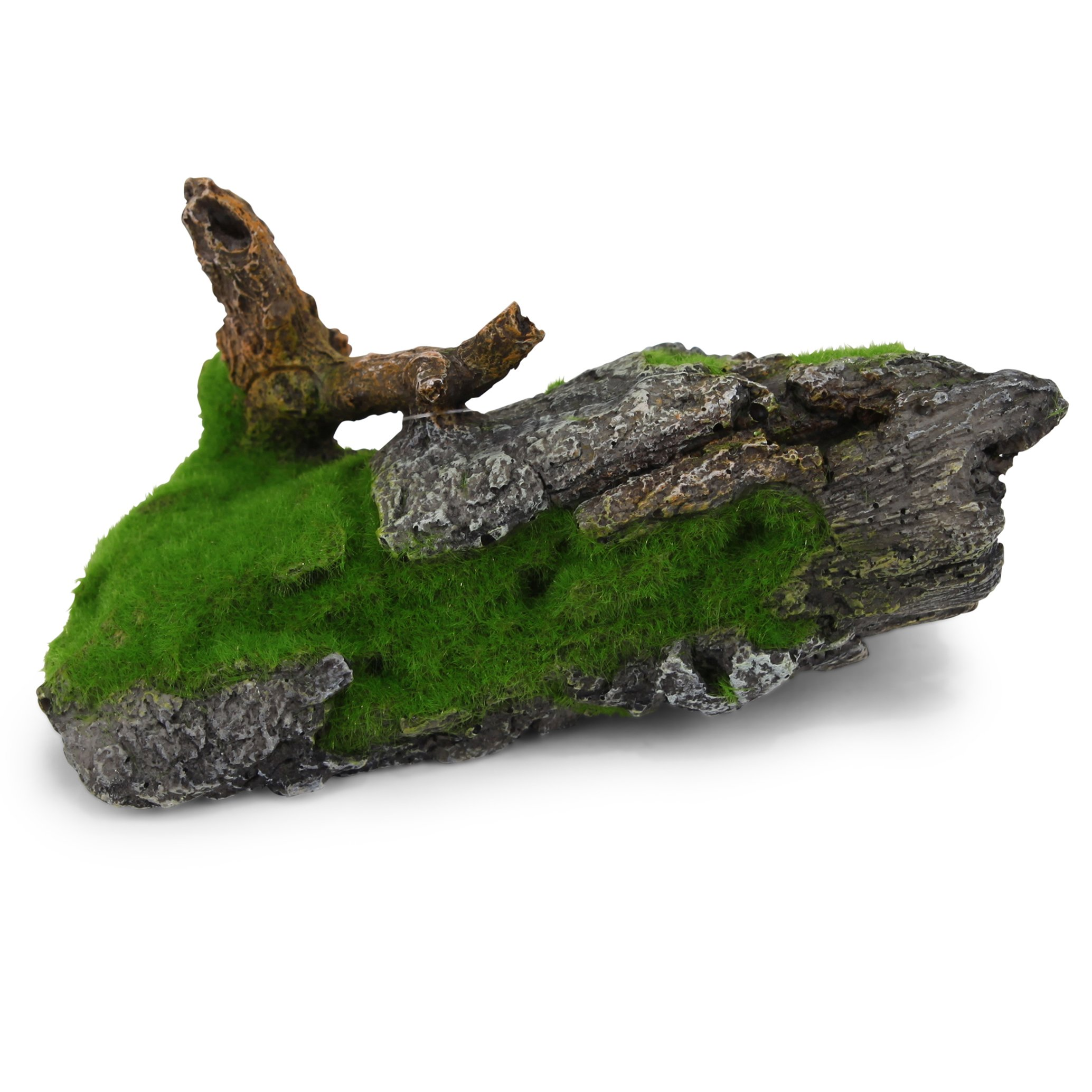 Driftwood Branch With Moss – Medium