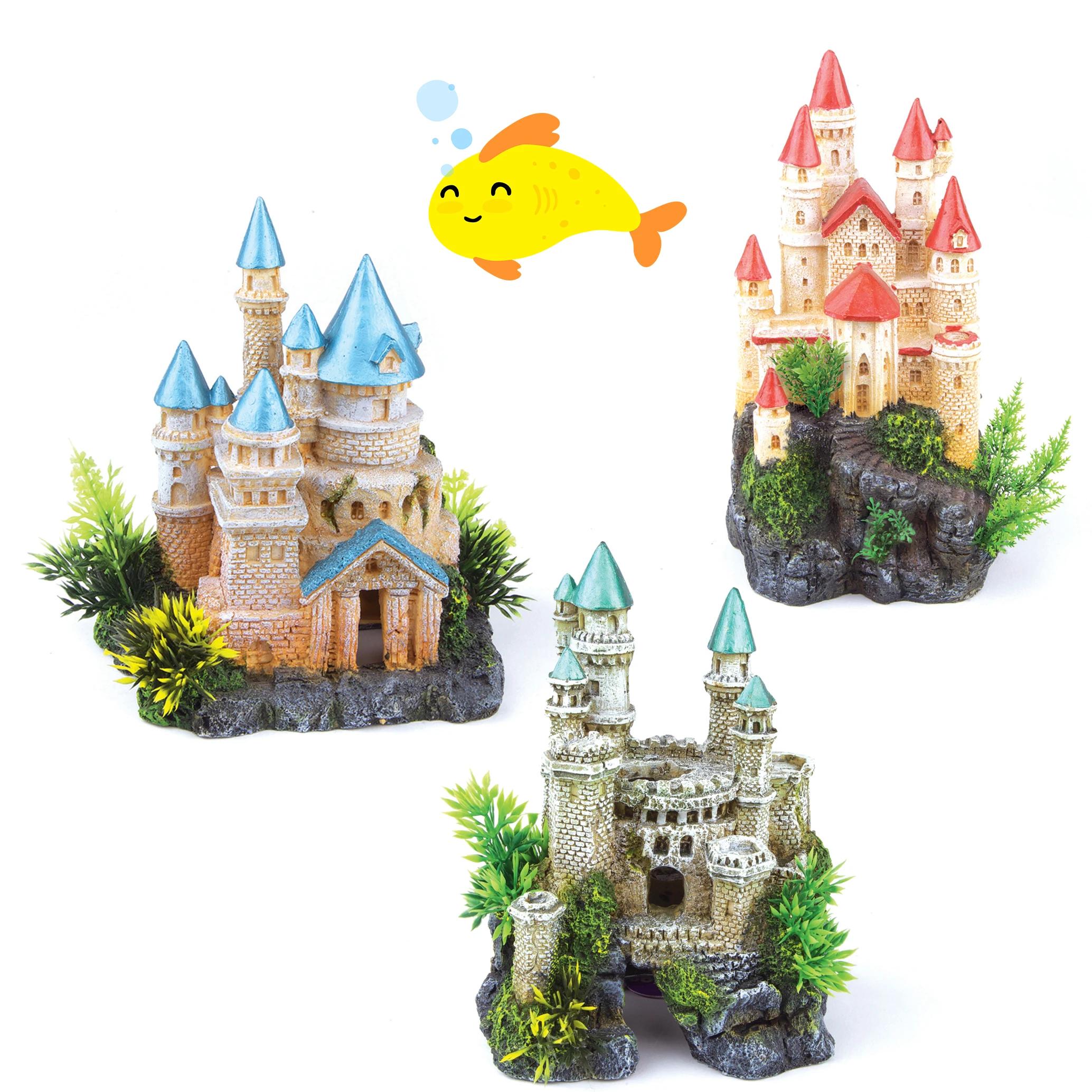 Castle With Plants