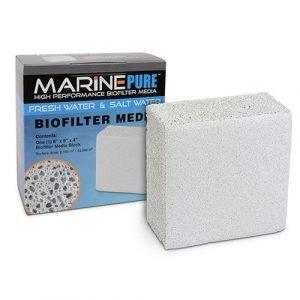 "Marine Pure Bio Filter Media 8x8x4"" Block"